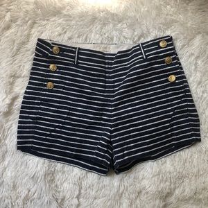J crew Sailor shorts
